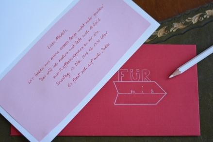 Komm mal wieder vorbei Einladungskarten gestalten Mein RothStift