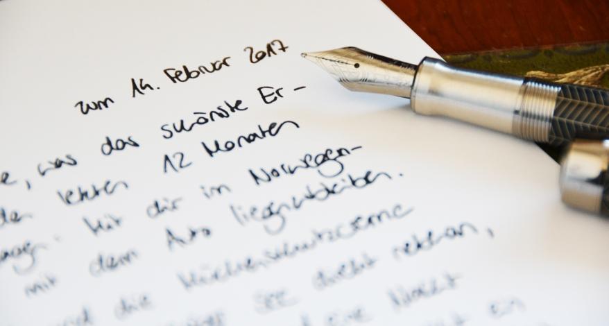 Online schreiben liebesbrief Liebesbriefgenerator